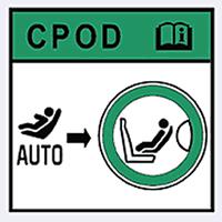 CPOD - система определения автомобильных детских кресел